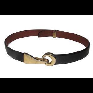 ST. JOHNS Hook and Eye Black Belt